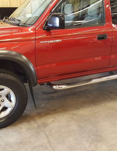 Ceramic Coating Job on Toyota Truck 2