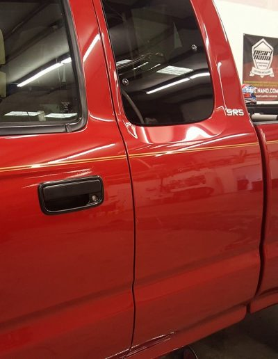Ceramic Coating Job on Toyota Truck 3