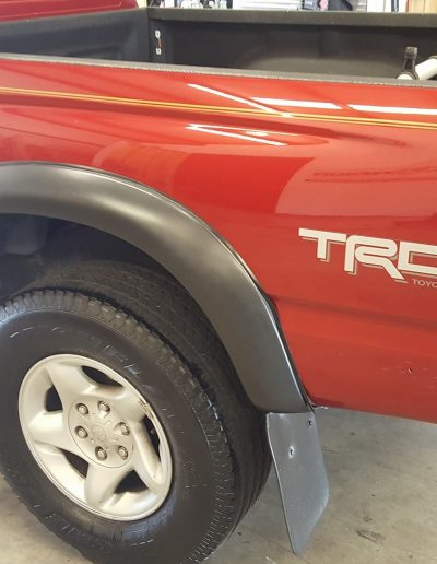 Ceramic Coating Job on Toyota Truck 4