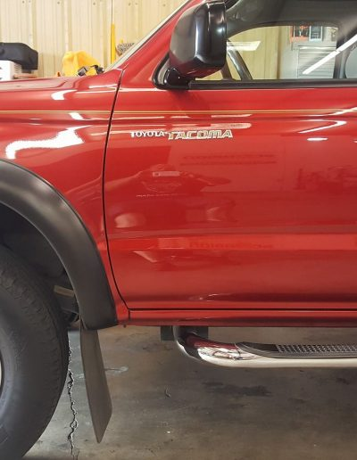 Ceramic Coating Job on Toyota Truck 7
