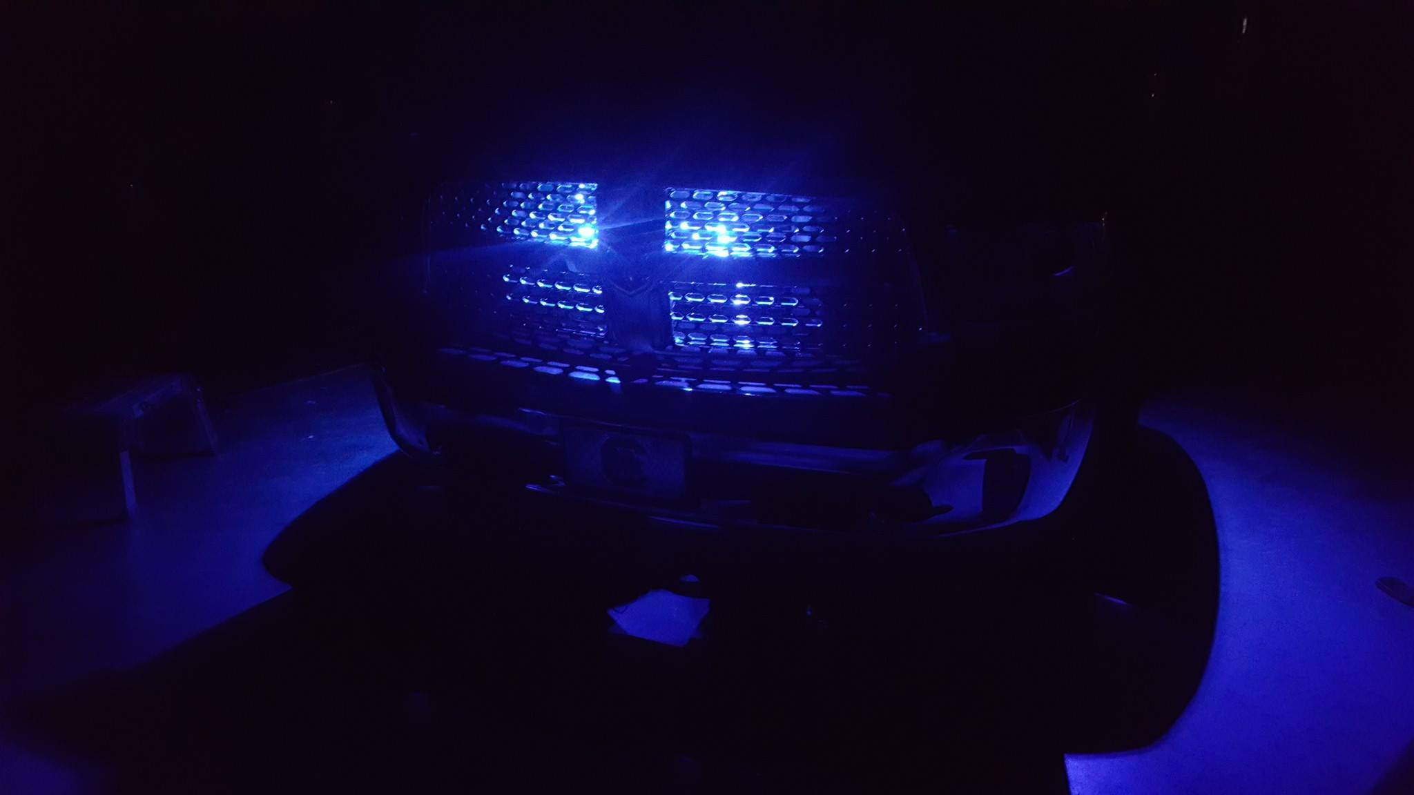 Custom Truck Grille Lights