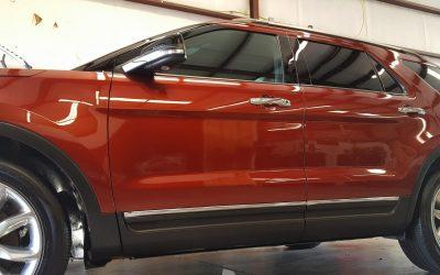Custom Auto Detail on SUV in Denver, NC